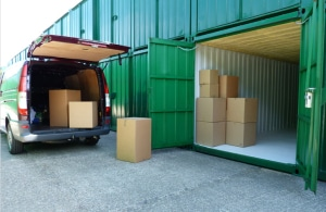 Drive up access to your unit saves time and hassle.