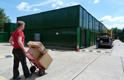 Spotlessly clean premises, 500 units in a choice of sizes