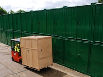 fork lift truck hire storage hampshire