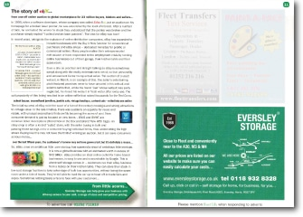 Fleetlife Article July 2011 The Story of eBay Storage for Small Business