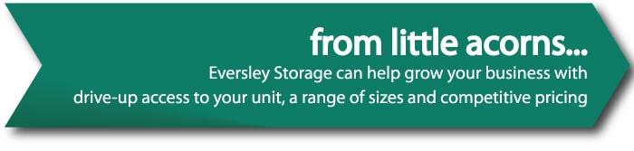 storage for start ups