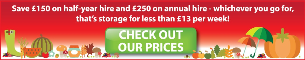 Save even more on half year and annual hire