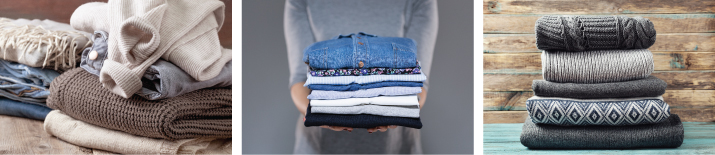 space to store summer clothes