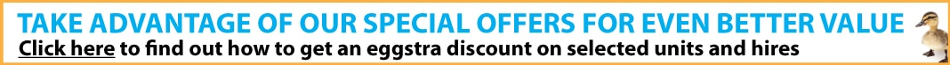Special offers - don't miss out on cheap storage
