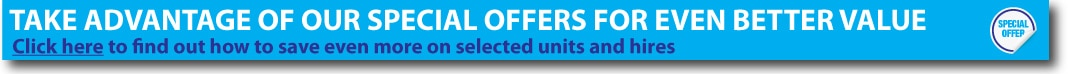 Special offers save even more on our storage